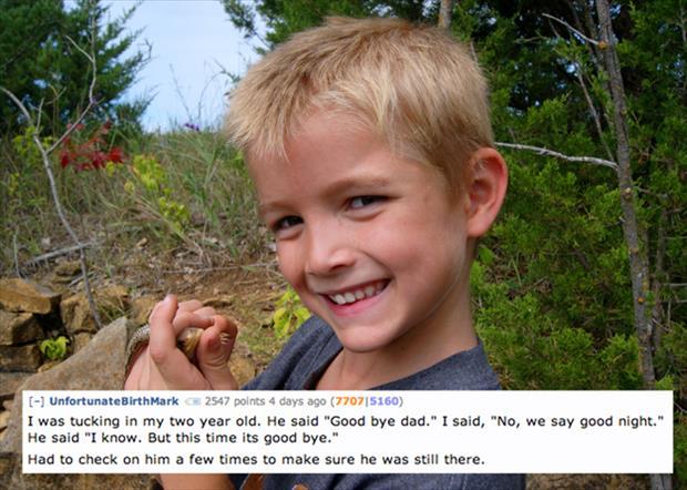 creepy things kids say reddit (3)