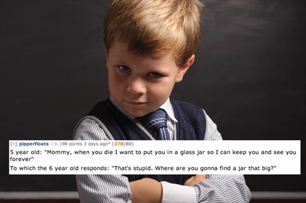 creepy things kids say reddit (7)