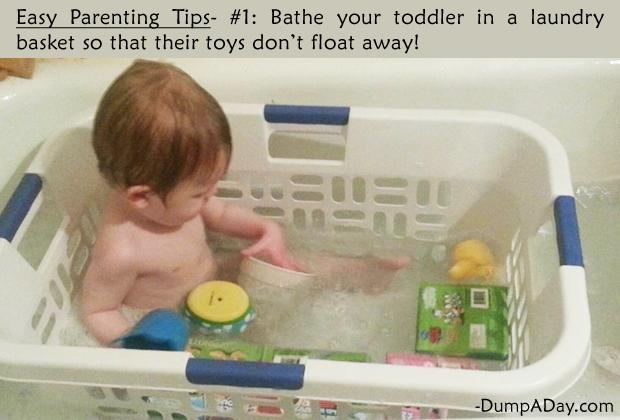 Easy Parenting Tips 1- Bathing