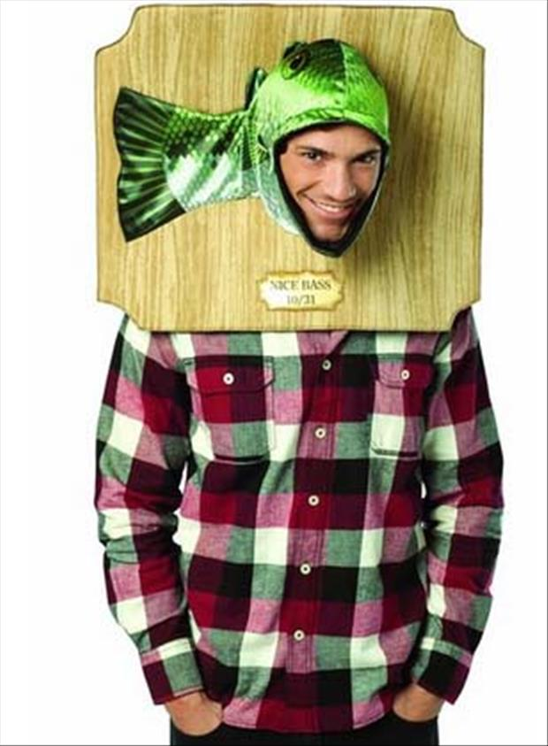 fish trophy costume