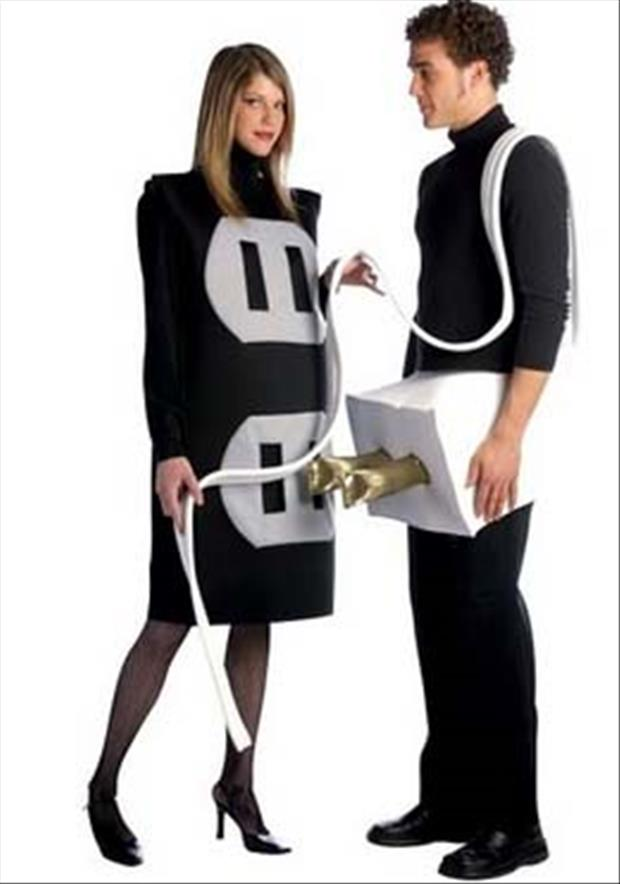 plug in outlet halloween costume
