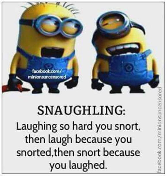 snaughing
