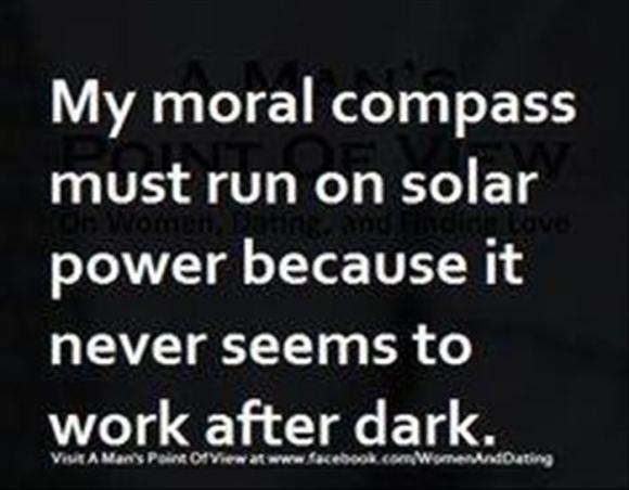 themoral compass