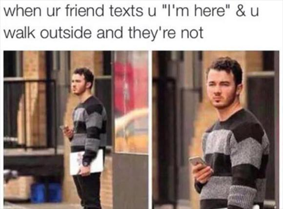 when your friend is there