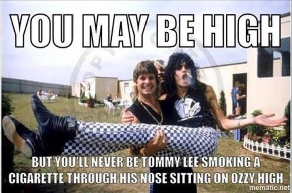 you may be high