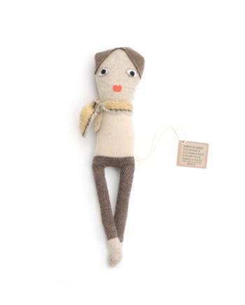 skinny girl lappenpop beige