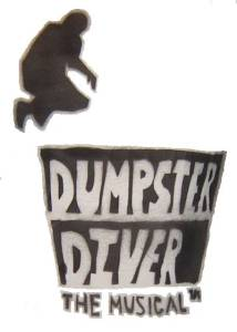 Dumpster Diver the Musical logo