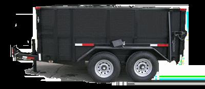 Rubber Wheeled Dumpster  Rental