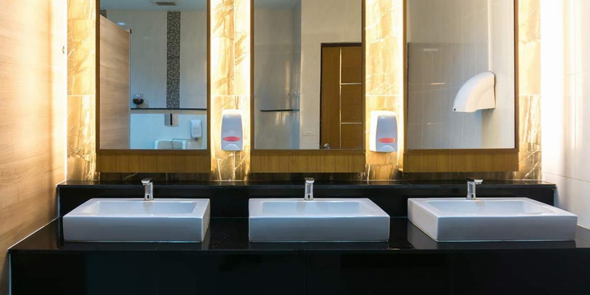 restaurant bathroom design ideas