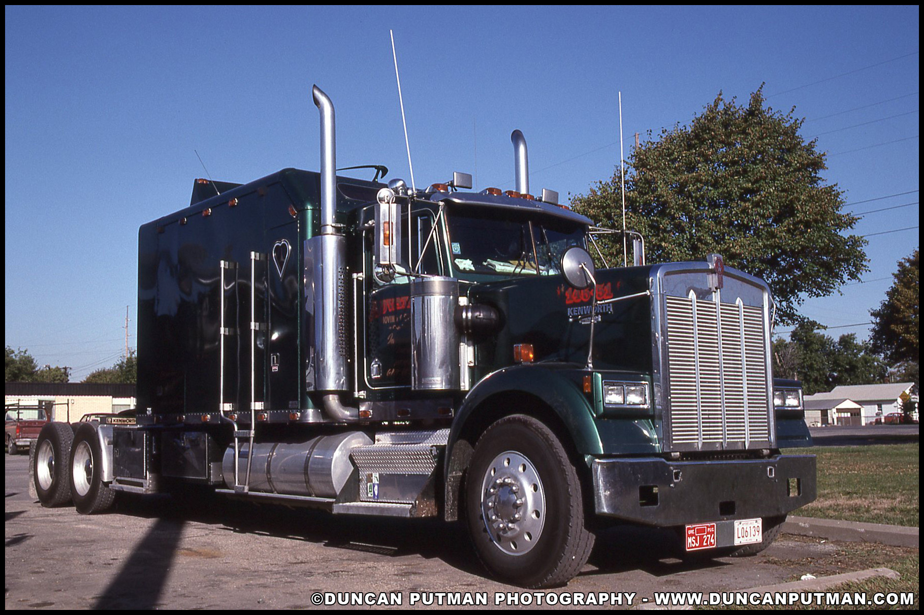 Duncanputman Com Photo Of The Week Kenworth W900 With An