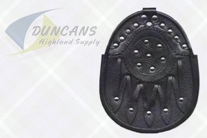 Economy Leather Studded Sporran