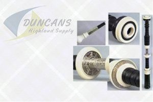 McCallum AB4DE Blackwood Bagpipes - Ivory