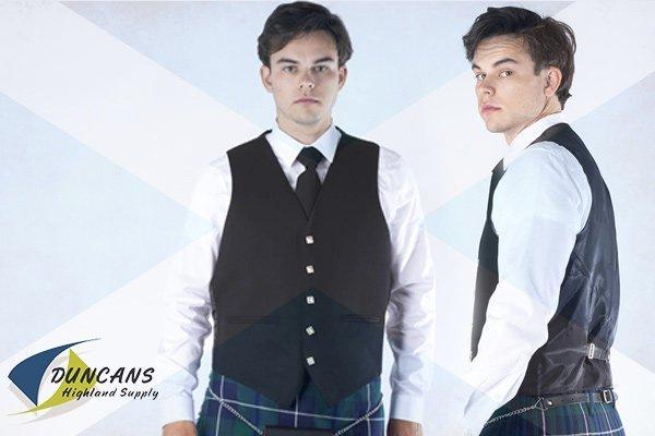 5 button vests