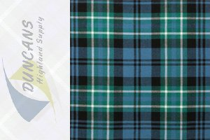 ARBUTHNOT ANCIENT LIGHT WEIGHT TARTAN FABRIC