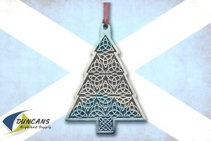 Celtic Christmas Tree Ornament