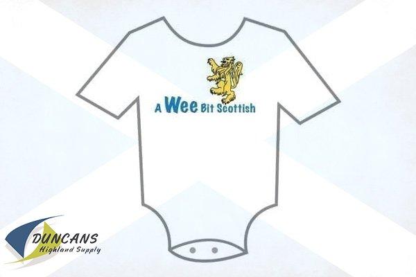 Wee Bit Scottish Onesie