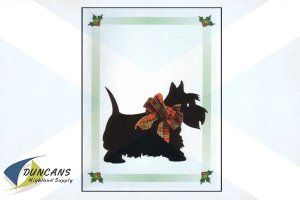 Christmas Scottie Dog Cards