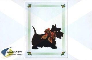 Christmas Scottie Dog Cards