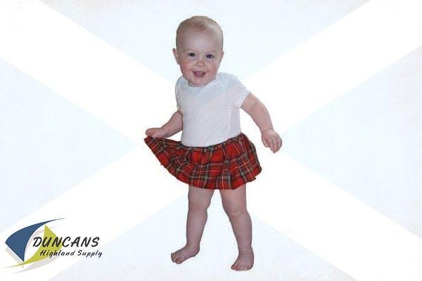 Royal Stewart Tartan Kilted Onesie