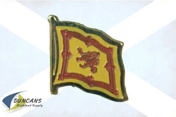 rampart lion flag pin