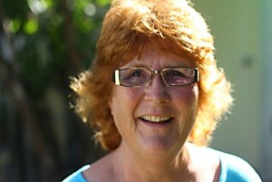 Carol Newington, candidate for City of Duncan Council (photograph in the Cowichan Valley Citizen)