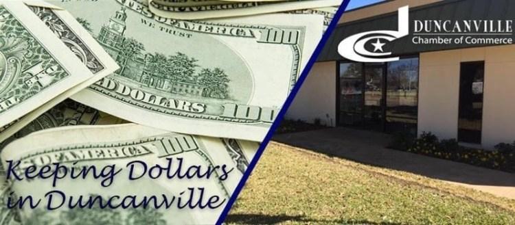 Keeping Dollars in Duncanville Header