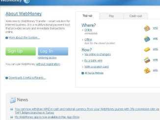 Webmoney sito