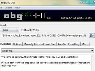 Configurazione abgx