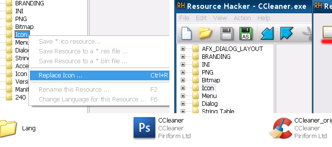 Resource hacker guida