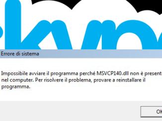 Skype msvcp140 dll