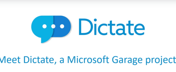Dictate riconoscimento vocale gratuito per word outlook e powerpoint
