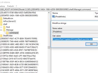 Soluzione errore questo file non dispone di un programma associato