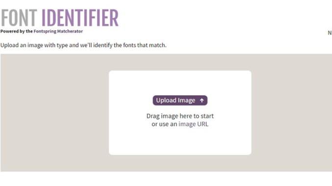Trova il carattere alternativo o il font da un immagine