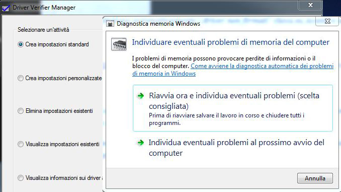 Soluzione errore bad pool caller in windows 10 8 7