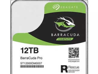 Seagate rilascia hard disk da 12tb