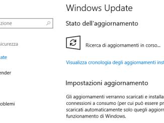 Come installare gli aggiornamenti di windows 10 manualmente