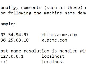 Come modificare il file hosts in windows 10