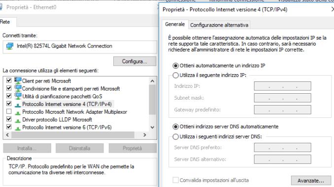Impossibile rilevare automaticamente le impostazioni di questo proxy di rete