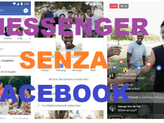 Come usare messenger senza un account facebook