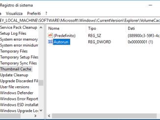 Windows 10 non visualizza anteprima delle immagini