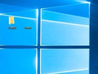Come creare una cartella senza icona o nome in windows 10