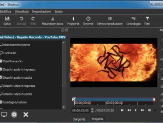 Programma gratuito editing video 4k
