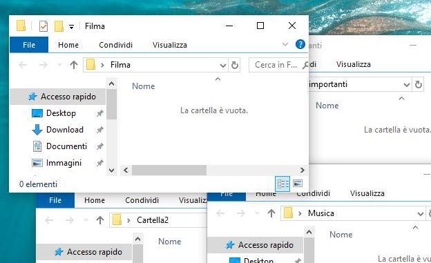 Come aprire automaticamente le cartelle avvio di windows 10