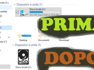 Come cambiare icona del disco locale in windows 10