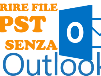 Programmi per aprire file pst senza outlook in windows
