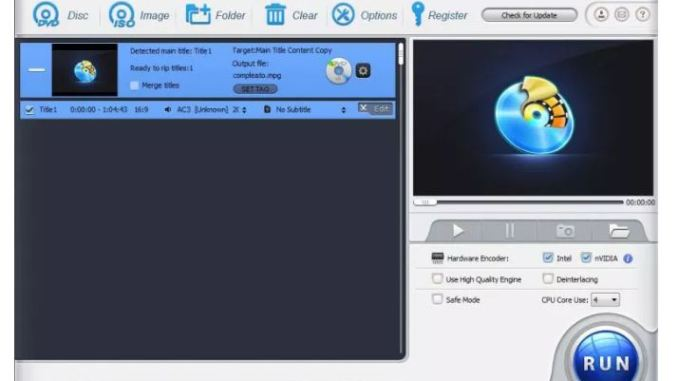 Come convertire dvd in mp4 miglio dvd ripper