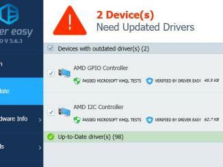Driver easy aggiorna tutti i driver automaticamente con un clic
