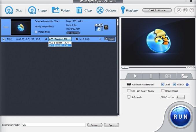Winx dvd ripper esportare audio dal dvd video