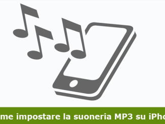 Come impostare la suoneria mp3 su iphone
