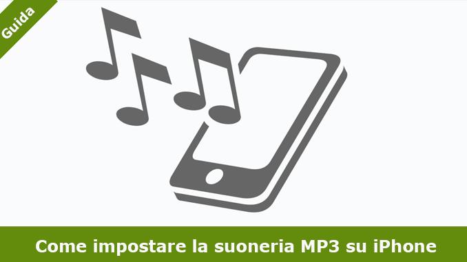 Come impostare la suoneria mp3 su iphone